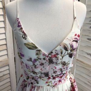 Dresses - English Garden Floral Maxi Dress
